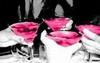 pink martinis, cheers!