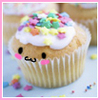 ~sweet cupcake with sprinkles~