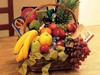a fruit basket